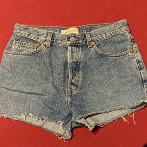 Gap Button Fly Cutoff Denim Shorts